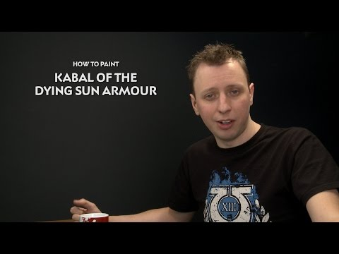 WHTV Tip of the Day - Kabal of the Dying Sun Armour.