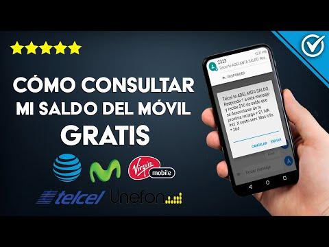 Cómo Consultar mi Saldo Gratis en AT&T, Telcel, Movistar, Unefon y Virgin Mobile