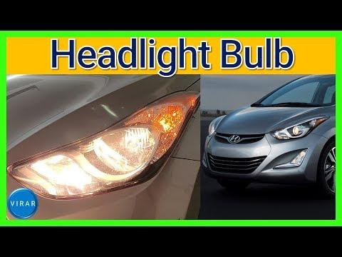 How to Replace Headlight Bulbs – Hyundai Elantra (2011-2016)