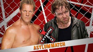 WWE Extreme Rules 2016 - Chris Jericho vs Dean Ambrose (Asylum Match) - WWE 2K16