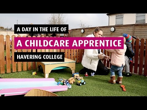 A Day In The Life Of A Childcare Apprentice