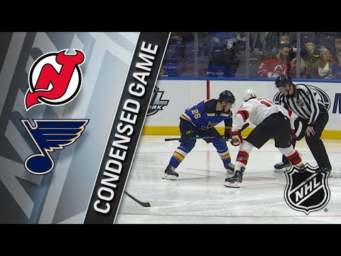 01/02/18 Condensed Game: Devils @ Blues