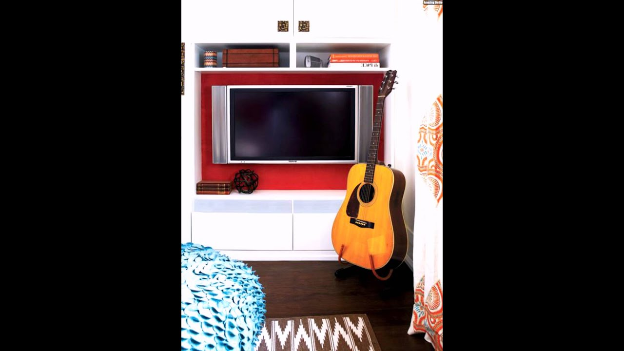 fernseher verstecken interieur ideen f r kleine wohnung youtube. Black Bedroom Furniture Sets. Home Design Ideas