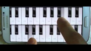 갤럭시폰으로 피아노연주 pat3