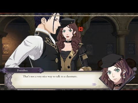 Dorothea & Felix Support Conversations  - Fire Emblem: Three Houses [Switch]