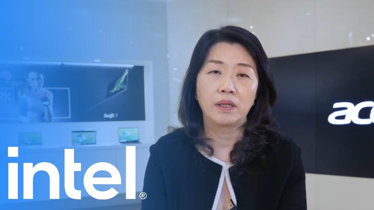 Intel x Acer: 11th Gen Intel Core   Intel