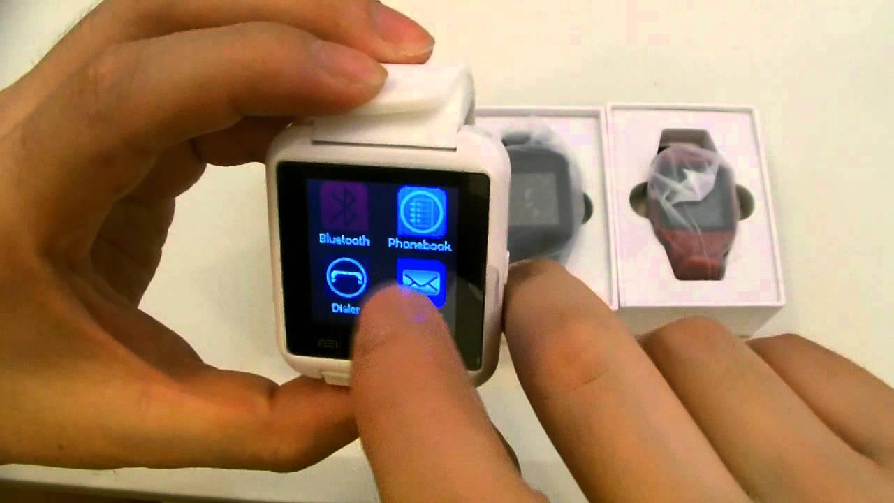 Обзор / Умные часы из Китая - Smartwatch U8 / Uwatch - YouTube