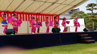 震災後、学生だけで結成されたORI 姫隊。 会津さくら祭りに、応援にかけ...
