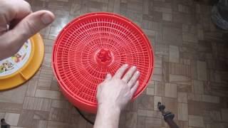 видео Электросушилка для овощей и фруктов Суховей М