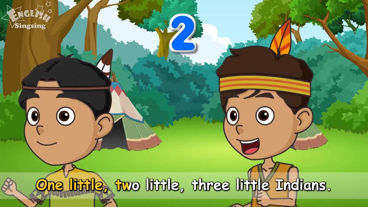عشرة الهنود قليلا - أوزة الأم مع الكاريوكي - الحضانة قافية أغنية للأطفال - أطفال أغنية مع كلمات
