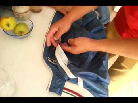 1 шаг как Быстро заклеить куртку,  по Испански - Клип смотреть онлайн с ютуб youtube, скачать