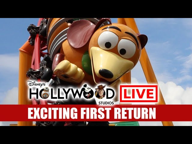 🔴 LIVE Disney's Hollywood Studios Exciting Return Back To The Movies Walt Disney World Live Stream