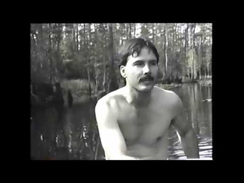 Camping in the Okefenokee, October 1989