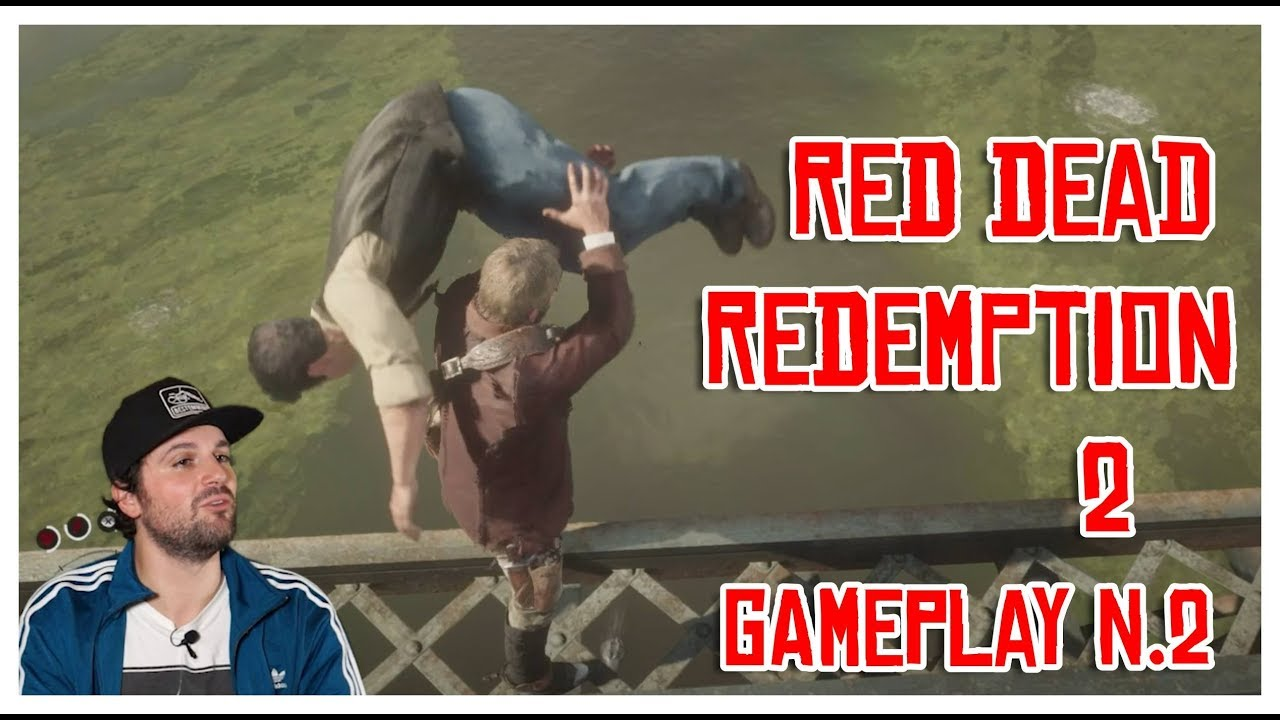 RED DEAD REDEMPTION 2 - GAMEPLAY #2 [FRANK MATANO]