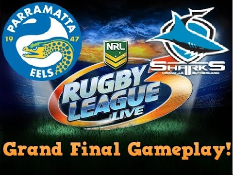 Rugby League Live 3 | Grand Final Gameplay | Sharks VS Eels