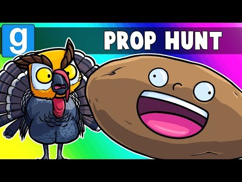 Gmod Prop Hunt Funny Moments - Thanksgiving Parade 2018!