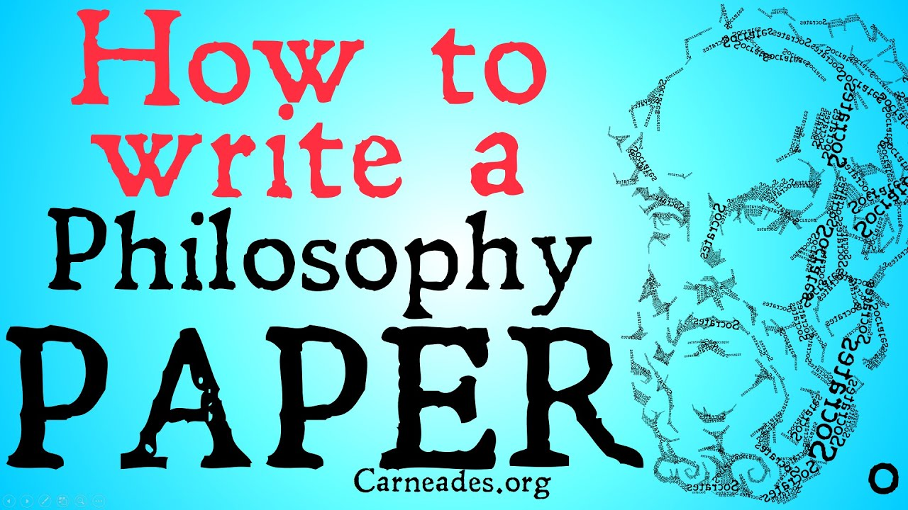 Write my philosophy papers