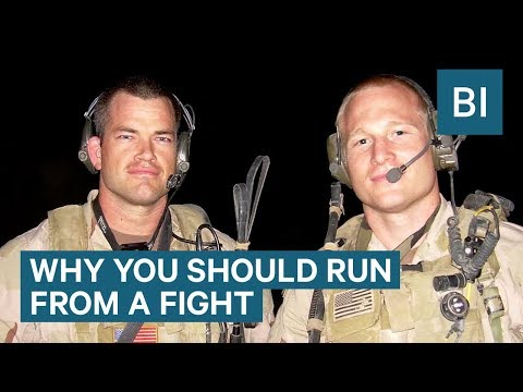 A Former Navy SEAL Commander Says The Best Defense Is To Run