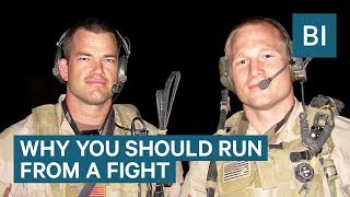 A Former Navy SEAL Commander Says The Best Defense Is To Run – This Is Why