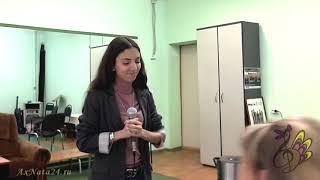 Урок вокала.Опора звука, фразировка, вн.энергетика и динамика In Assenza Di Te  ч.2-я(1)
