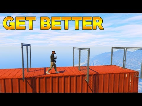 GTA 5 Online - HOW TO GET BETTER AT PARKOUR!
