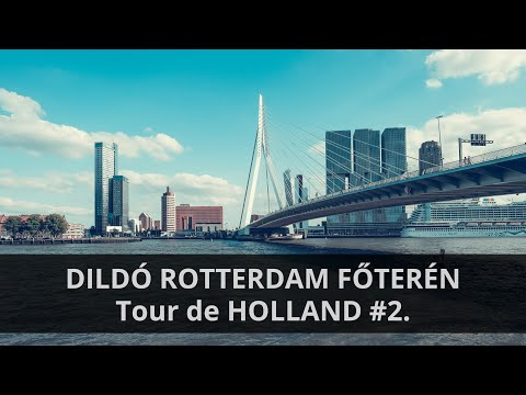 DILDÓ ROTTERDAM FŐTERÉN // Tour de HOLLAND #2.