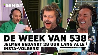 Gerard Joling gaat los bij De 538 Ochtendshow | De Week Van 538