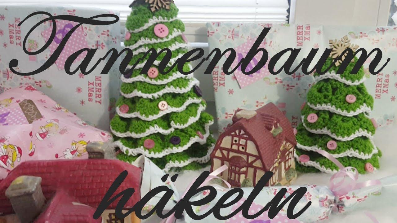 Diy Häkeln Tannenbaum Häkeln Weihnachtsdeko Weihnachten