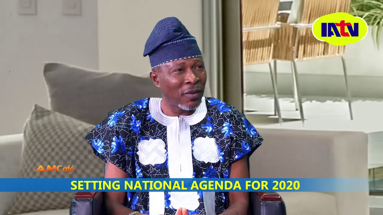 Download AM CAFE  SETTING  NATIONAL AGENDA FOR 2020