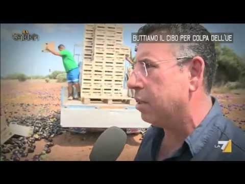 La Gabbia - Buttiamo il cibo per colpa dell'UE (04/06/2014)