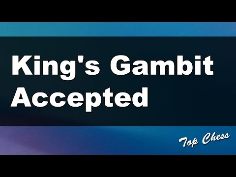 Chess Online - King's Gambit Accepted
