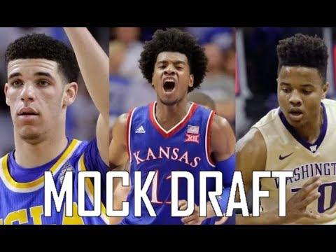 2017 NBA Mock Draft 2.0 - One Week Before the NBA Draft