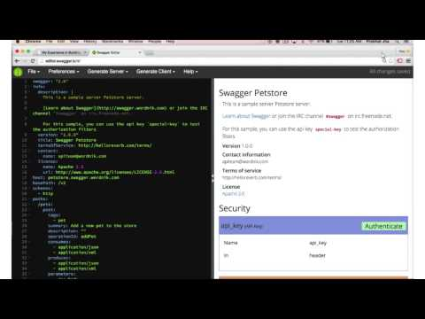 Webcast: How We Built the Online Swagger Editor - YouTube