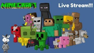 🔴[Live] Hey squad!!! Minecraft Stream? (Road to 2000) #live #roblox #minecraftlive