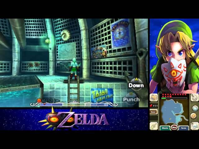 The Legend of Zelda: Majoras Mask 3D 100% Walkthrough Part 18 - Zora Eggs / New Wave Bossa Nova