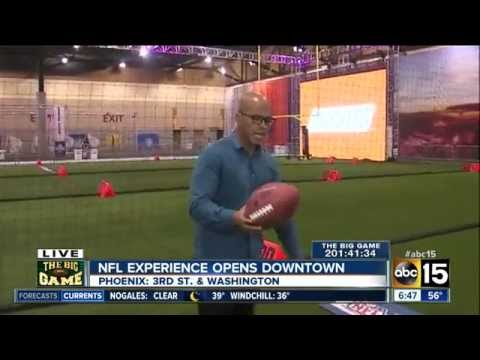 Inside the NFL Experience in downtown Phoenix