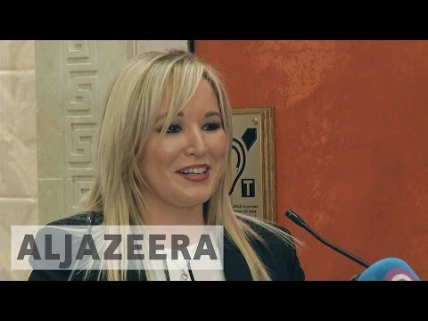 Northern Ireland: Sinn Fein names Michelle O'Neill new leader