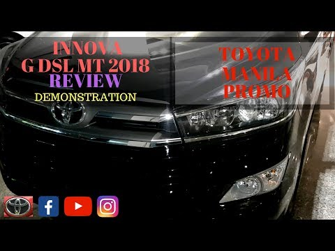 TOYOTA INNOVA G DSL MT 2018 | REVIEW | DEMONSTRATION