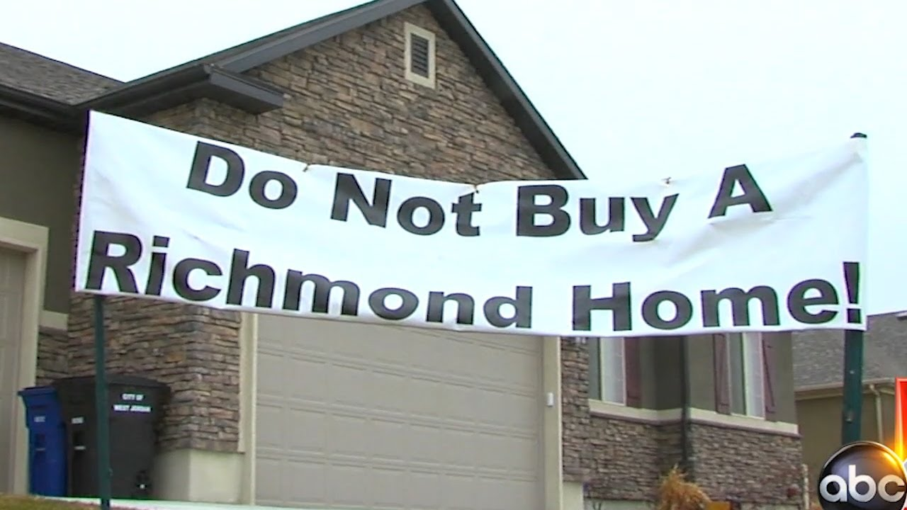 Homeowners Upset With Richmond American Homes Youtube
