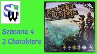 Robinson Crusoe - Szenario 4 - 2 Charaktere (Forscher + Zimmermann)