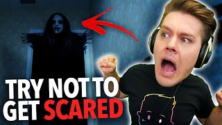 TRY NOT TO GET SCARED! #4