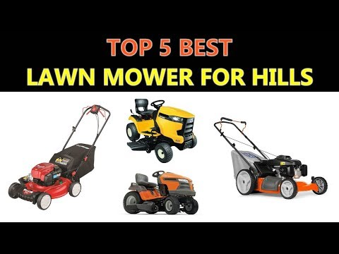 Best Lawn Mower For Hills 2017 Youtube