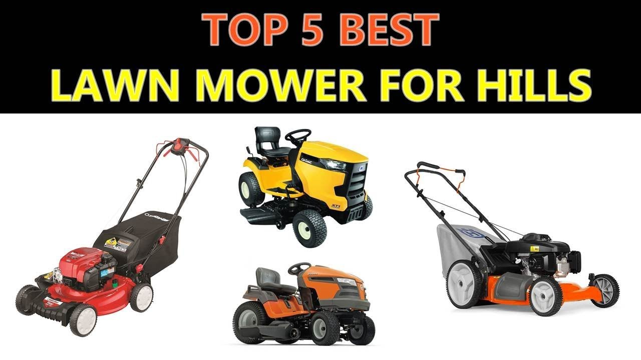 Best Lawn Mower For Hills Youtube