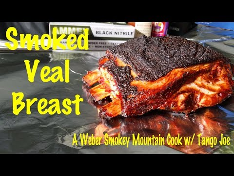 Midnight Veal Breast | Smoked Veal Breast | Weber Smokey Mountain