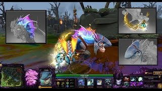 Dota 2 Slark Mix Set Golden Skady / Wavecutter /Shark Cowl