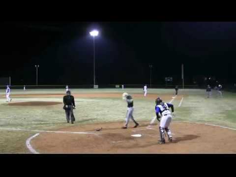 Cane Bay Pitcher Dylan Harley -  Highlights vs Beaufort on 3-16-18 at Cobra Field..