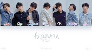 [HAN|ROM|ENG] BTS (방탄소년단) - Anpanman (Color Coded Lyrics)