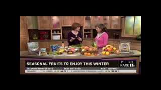 Winter Fruits that Aren't Just Apples (12/30/14 on KARE 11)