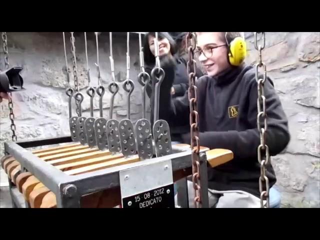 Le campane di Piazza Brembana (BG) - Allegrezze manuali e Concerto Solenne manuale