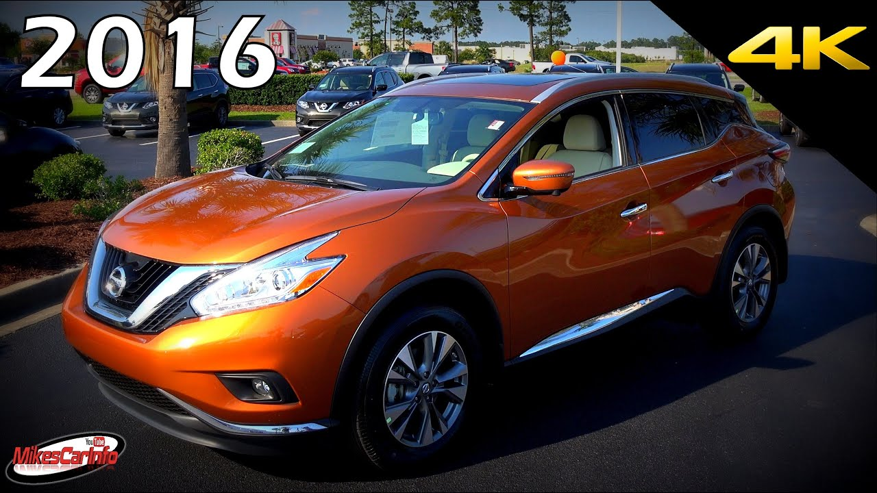 2016 Nissan Murano Sl Ultimate In Depth Look In 4k Youtube
